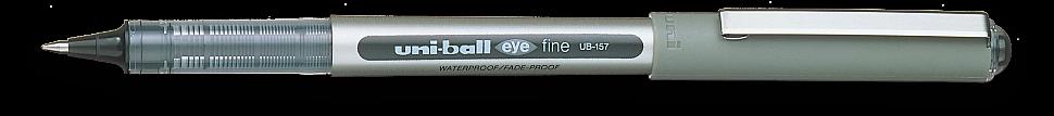 Ручка роллер Uni-Ball Eye черная 0,7мм