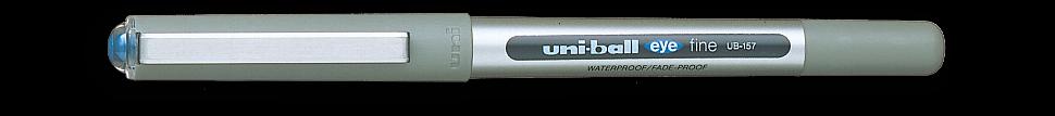 Ручка роллер Uni-Ball Eye синяя 0,7мм